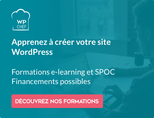 WPChef - Formation WordPress